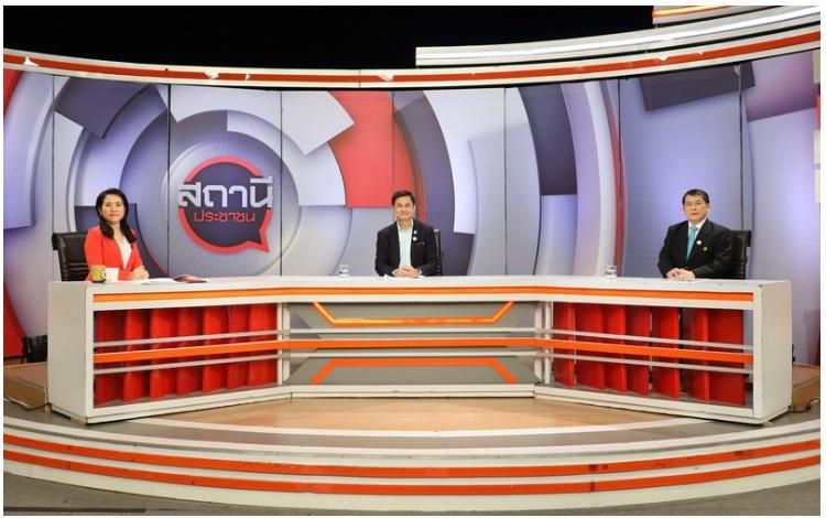 """ก.แรงงาน ให้สัมภาษณ์ประเด็น """"กระทรวงแรงงาน ช่วยเหลือแรงงานไทยที่ได้รับผลกระทบ COVID-๑๙""""ช่อง THAI PBS"""
